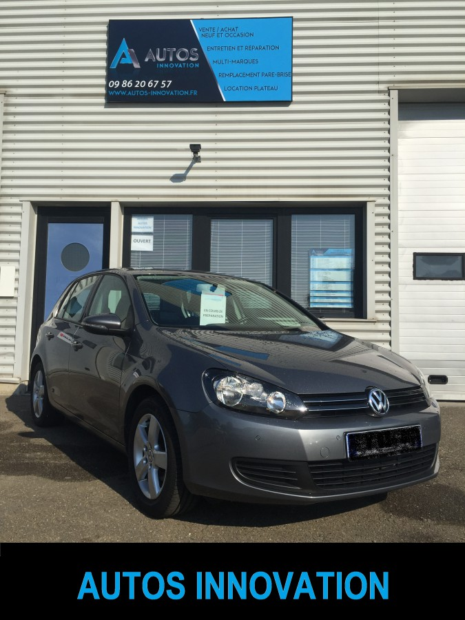 golf 6 tdi 105 cv finition confortline