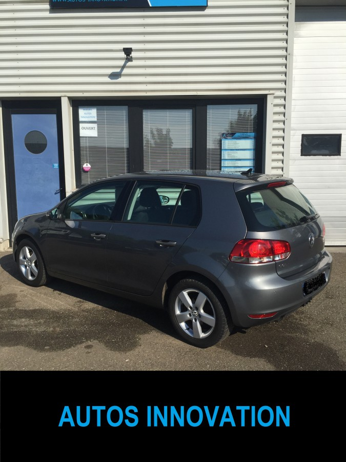Golf 6 tdi 105 cv finition confortline v hicule d for Garage volkswagen saverne