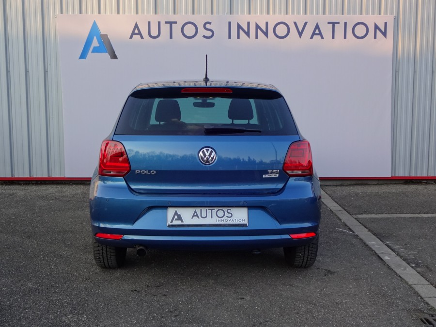 Volkswagen polo 1 2 tsi 90ch finition lounge v hicule d for Garage volkswagen saverne