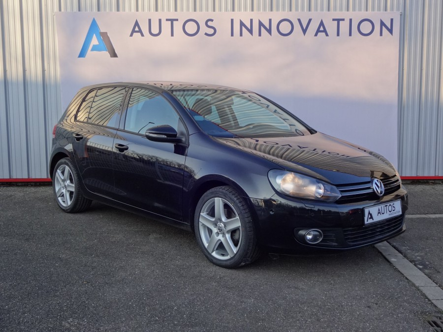 Volkswagen golf 6 1 4 tsi 122ch finition team v hicule d for Garage volkswagen saverne