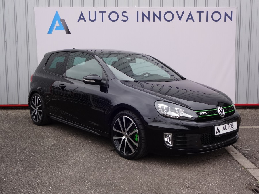 Volkswagen golf 6 2l tdi 170ch finition gtd boite dsg6 for Garage volkswagen saverne
